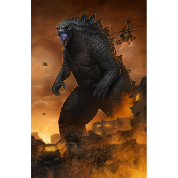 Modern Godzilla Right