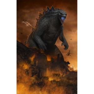 Modern Godzilla - Left