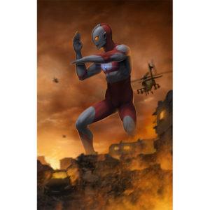 Ultraman Right Side