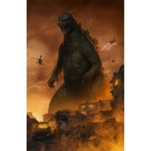 Godzilla Classic Right Side