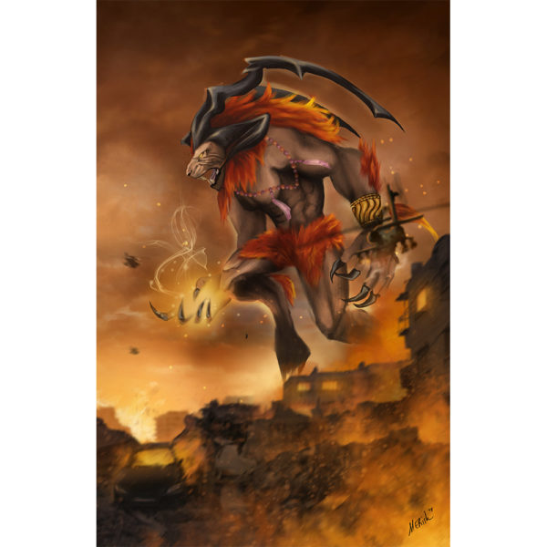 Ifrit Right Side