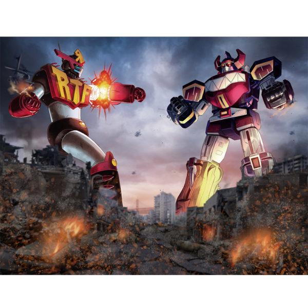 RTF Robot versus Megazord