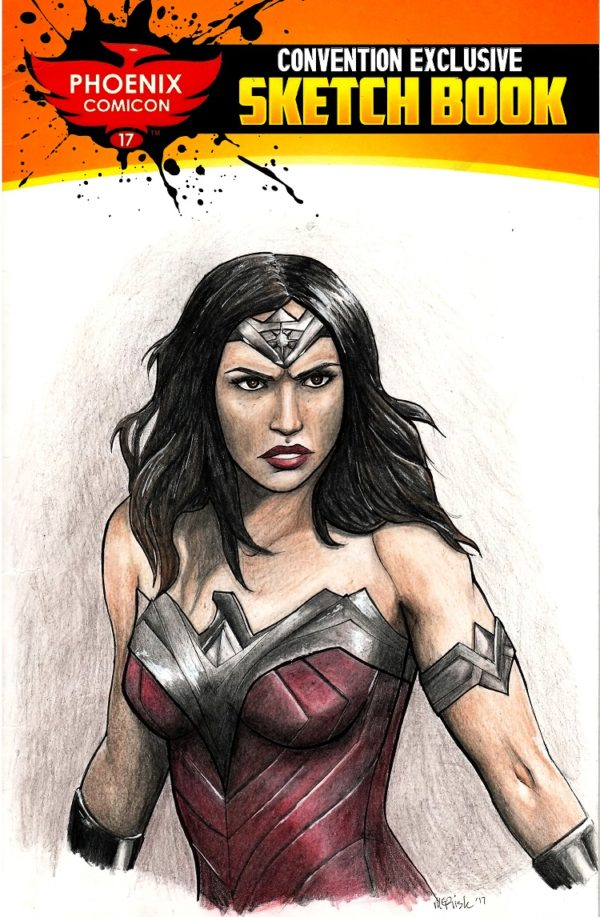 Wonder Woman Sketch Cover Megan Risk