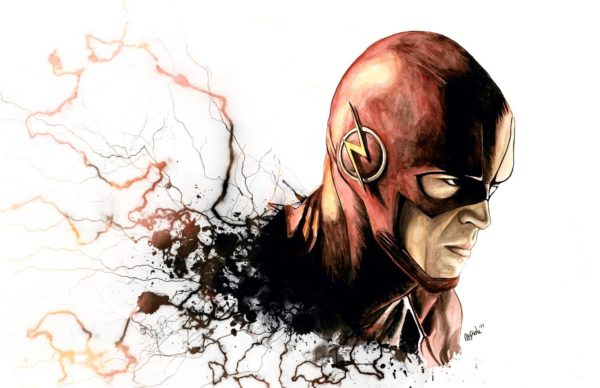 The Flash by Megan E Risk